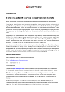 Bundestag stärkt Startup-Investitionslandschaft