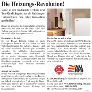Die Heizungs-Revolution!
