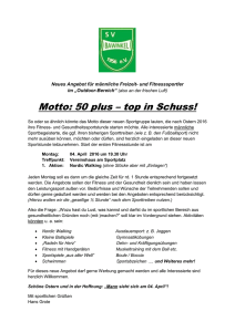 Motto: 50 plus – top in Schuss!