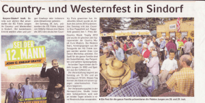 Country- und Westernfest in Sindorf