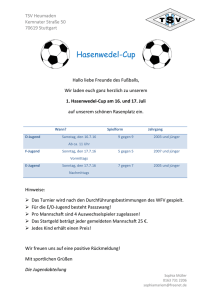 Hasenwedel-Cup - TSV Heumaden Fußball
