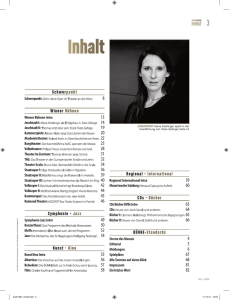 Inhalt - bundestheater.at