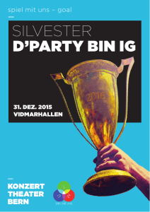 silvester d`party bin ig