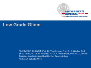 Low Grade Gliom