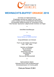weihnachts-buffet orange 2016