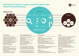 Quantitative Performance-Analyse von SQL