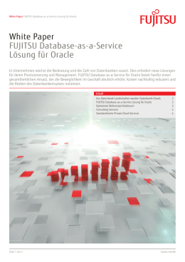 White Paper FUJITSU Database-as-a