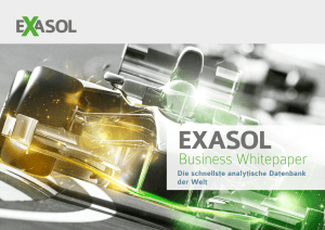 Exasol Business Whitepaper 2015