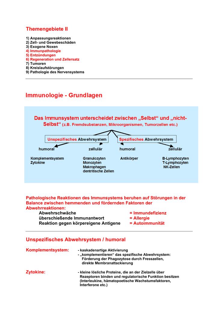 humorale immunantwort definition
