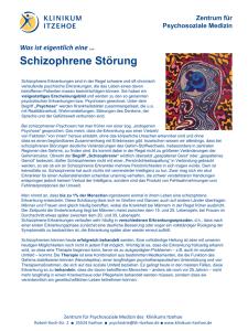 Dating jemand mit milder Schizophrenie