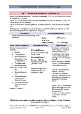 bronchoalveoläre lavage beurteilung