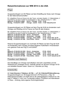 Reiseinformationen zur WM 2014 in die USA