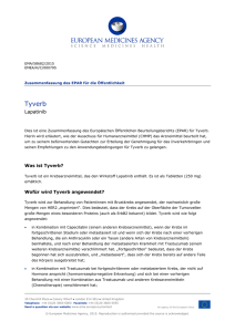 Tyverb, INN-lapatinib - European Medicines Agency