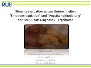 """Angstkonditionierung"" der BoDDi-Kids Diagnostik"