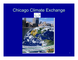 Chicago Climate Exchange - ETH