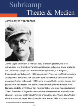 James Joyce / Verbannte