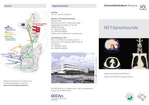 NET-Sprechstunde - Comprehensive Cancer Center Mainfranken