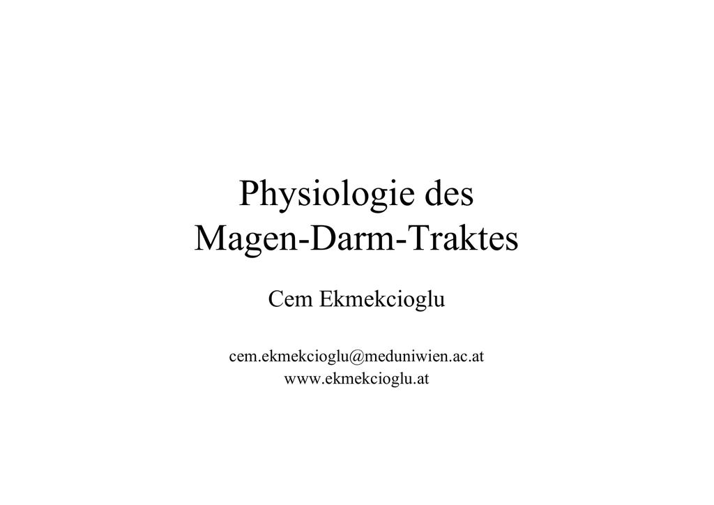 Schön Darm Anatomie Und Physiologie Bilder - Menschliche Anatomie ...