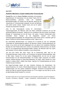 EAFA Press release - The home of aluminium foil