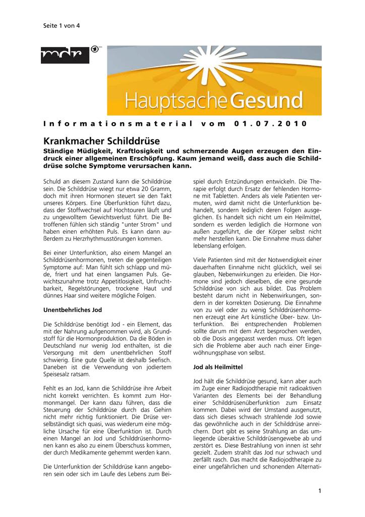 Berühmt Menschliche Anatomie Der Schilddrüse Fotos - Anatomie und ...