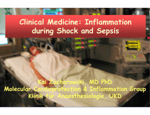 Clinical Medicine: Inflammation during Shock and Sepsis