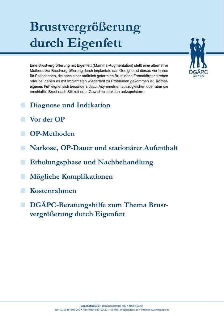brust op deutschland kostenlose email