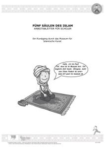 f nf s ulen des islam arbeitsbl tter f r sch ler. Black Bedroom Furniture Sets. Home Design Ideas