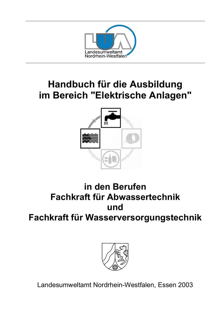 Handbuch für die Ausbildung im Bereich \