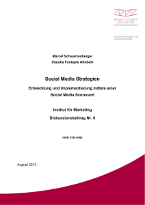 Nr. 6 Social Media Strategien - Helmut-Schmidt