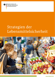 Strategien der Lebensmittelsicherheit