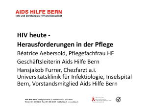 HIV positive and sexually traumatized migrants in Switzerland