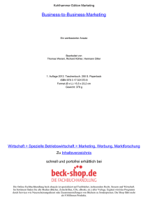 Business-to-Business-Marketing - ReadingSample - beck