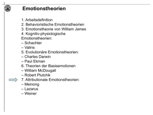 Emotionstheorien