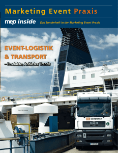 EVENT-LOGISTIK & TRaNSPORT