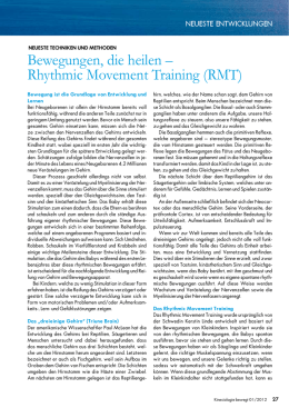 Bewegungen, die heilen – Rhythmic Movement Training (RMT)
