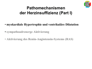 Pathomechanismen der Herzinsuffizienz (Part I)