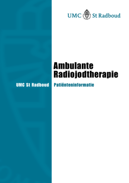 Ambulante Radiojodtherapie