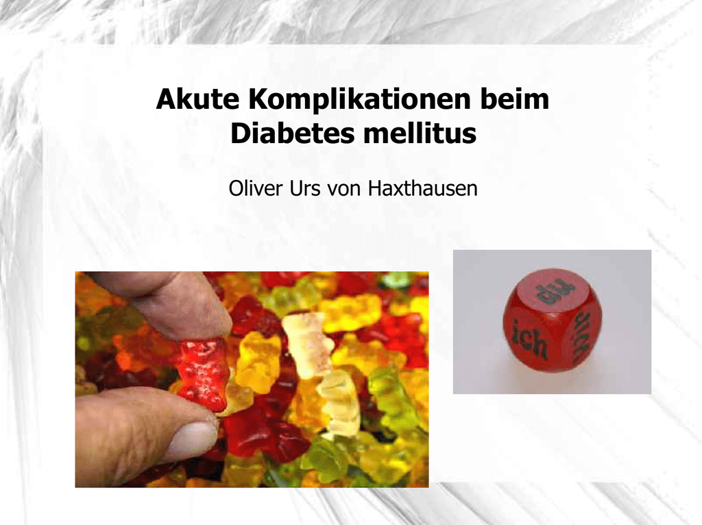 komplikationen von diabetes