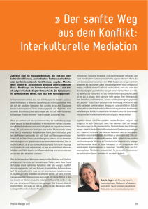 Interkulturelle Mediation