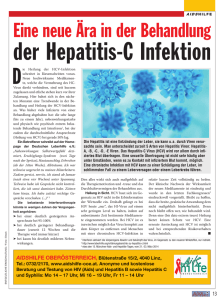 der Hepatitis