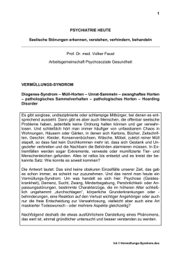Vermüllungs-Syndrom (PDF | 269KB)