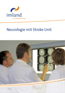 Neurologie mit Stroke Unit