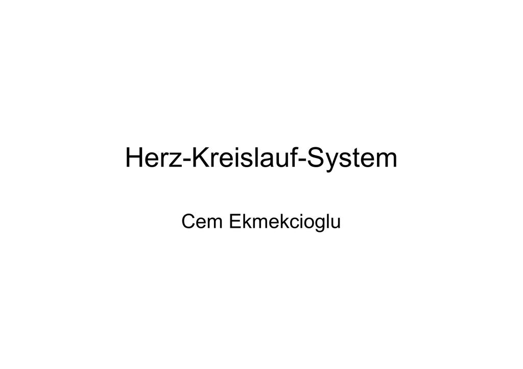 Großartig Herz Kreislauf System Umfasst Zeitgenössisch - Anatomie ...