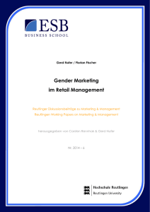 Gender Marketing im Retail Management