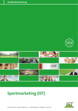 Sportmarketing - IST