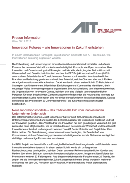 Innovation Futures - AIT Austrian Institute of Technology