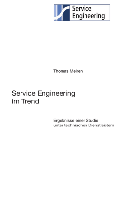 Service Engineering im Trend