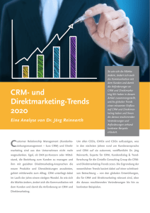 CRM- und Direktmarketing-Trends 2020