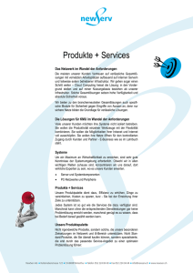 Systeme, Services & Produkte