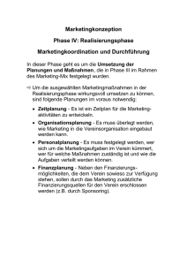 11-5 Realisierungsphase Marketing